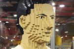 Robert Lewandowski z klocków Lego