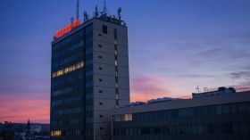Zachód słońca nad Krakowem [ZDJĘCIE DNIA]