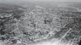 Niezwykłe zdjęcie zniszczonego Gdańska