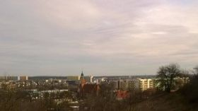 Widok ze skarpy w Bydgoszczy [ZDJĘCIE DNIA]