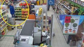 Upatrzyli sobie alkohol, kawę i słodycze. Lubelska policja szuka złodziei [ZDJĘCIA]