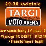 Moto Arena, czyli rodzinnie i motoryzacyjnie. Mamy dla Was bilety!