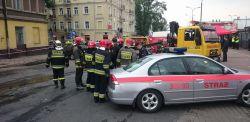 Dramatyczna akcja ratunkowa w zawalonym budynku przy ul. Lubartowskiej