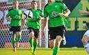 Zielono-czarne akcenty w Podgoricy i na Wembley