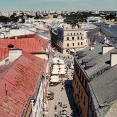 Lublin z Bramy Krakowskiej [ZDJĘCIE DNIA]
