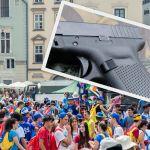 Na krakowskim Rynku zatrzymano uzbrojonego mężczyznę [AUDIO]