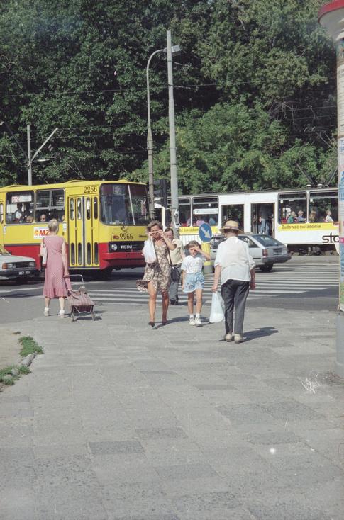 Warszawa w latach 90.