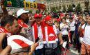 Moskwa biało-czerwona! Nasi gotowi na mecz! [WIDEO, AUDIO]