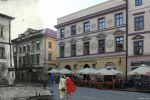 Rynek Starego Miasta w Lublinie z kamienicą Klonowica