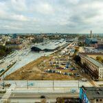 Licytacja najdroższej działki w Łodzi zakończona! Ile za teren przy dworcu Fabrycznym?