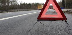 Tragedia na A1 koło Głuchowa. Samochód spadł z wiaduktu