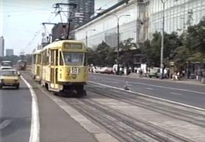 Tak wyglądały warszawskie tramwaje w lecie 1989 roku