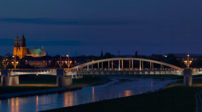 Zdjęcie z artykułu: Warta: Nad rzeką pojawi się nowe oświetlenie! Będzie też monitoring!