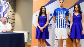 Fundacja Sport Twoją Szansą na koszulkach Lecha