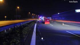 Ruda Śląska: Śmiertelne potrącenie na A4. Mężczyzna nie miał szans