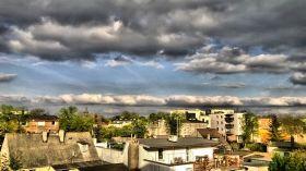 Ciemne chmury nad Bydgoszczą [ZDJĘCIE DNIA]