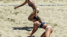 Turniej siatkówki plażowej w Leśnej Woli
