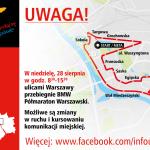 Półmaraton Praski: utrudnienia w ruchu