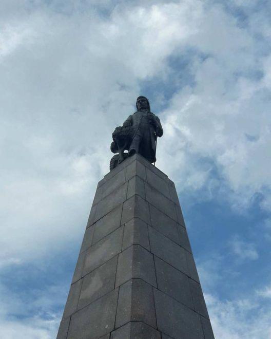 Zdjęcie z artykułu: Kościuszko na Placu Wolności w Łodzi [ZDJĘCIE DNIA]