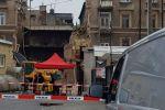 Zawalona kamienica przy ul. Lubartowskiej już rozebrana