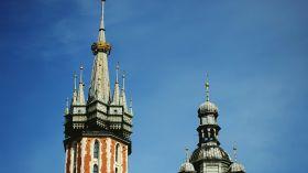 Wieże kościoła Mariackiego [ZDJĘCIE DNIA]