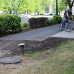 Ścieżka rowerowa w al. Jana Pawła II będzie wreszcie legalna