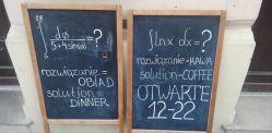 Obiady za darmo w jednej z krakowskich restauracji! Trzeba tylko... obliczyć całkę! [AUDIO]