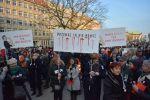 Strajk Kobiet na placu Wolności w Poznaniu