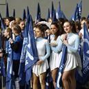 Cheerleaderki Kolejorz Girls podczas meczu Lech Poznań - Górnik Łęczna [GALERIA]