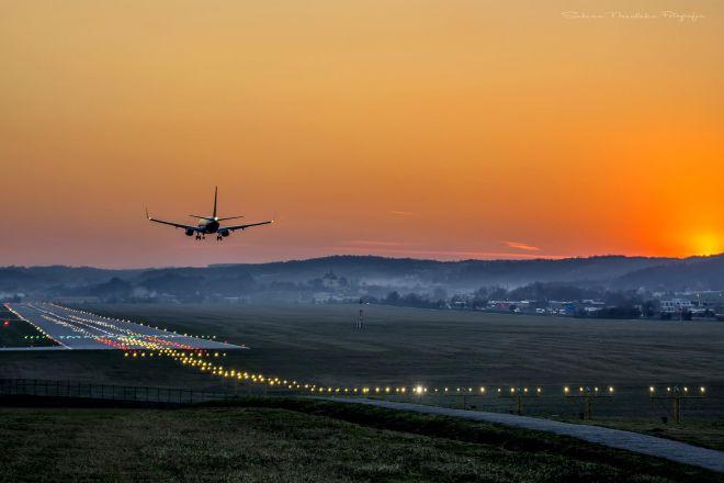Zdjęcie z artykułu: Lotnisko w Balicach [ZDJĘCIE DNIA]