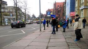 Pościg na ulicach Szczecina. Tramwaje jeżdżą objazdami