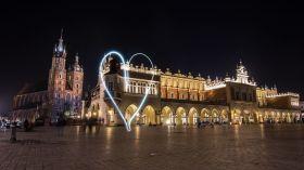 Kraków nocą [ZDJĘCIE DNIA]