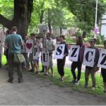 STOP wycince! Obrońcy Puszczy Białowieskiej kolejny raz protestują [WIDEO NOWA TV 24 GODZINY]