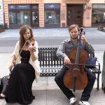 Uliczni grajkowie w Łodzi: Na Piotrkowskiej można poczuć się, jak w filharmonii [WIDEO]