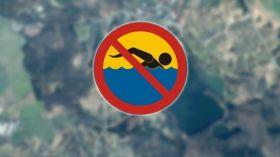 Bakterie w jeziorze. Zakaz kąpieli w Golczewie