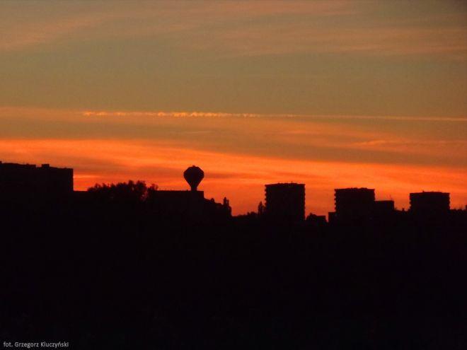 Zdjęcie z artykułu: Pomorzany o zachodzie słońca [ZDJĘCIE DNIA]
