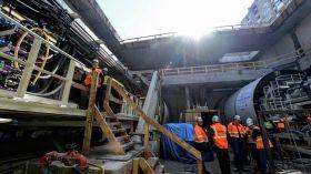 Budowa metra na Targówku: ruszyło drążenie tunelu