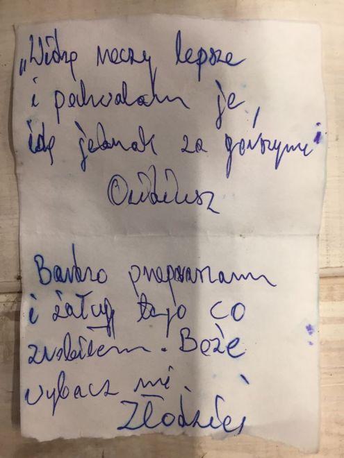 Zdjęcie z artykułu: Poznań: Ukradł kielich mszalny, ale miał wyrzuty sumienia! Oddał go, a w środku była karteczka…
