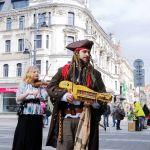 Piraci nie z Karaibów, a z... Katowic! Zobaczcie niezwykłą sztukę uliczną [WIDEO]